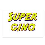 Super gino Postcards (Package of 8)
