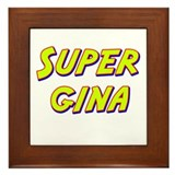 Super gina Framed Tile