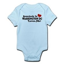 Somebody In Washington DC Infant Bodysuit