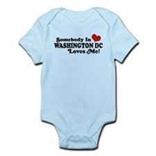 Somebody In Washington DC Infant Bodysuit