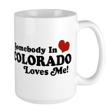State of colorado Large Mug (15 oz)