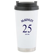 William McKinely Ceramic Travel Mug