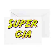 Super gia Greeting Cards (Pk of 20)