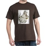 English Trumpeter Brown Splas Dark T-Shirt