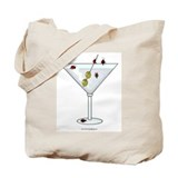 Martini Ladybugs Tote Bag