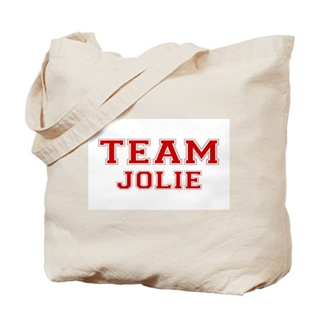 Team Jolie Tote Bag