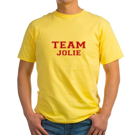 Team Jolie Yellow T-Shirt
