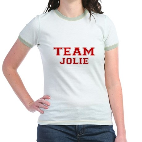 Team Jolie Jr Ringer T-Shirt