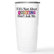 Quilting Travel Mug