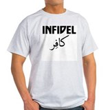 Infidel T-Shirt (English &amp; Arabic)