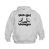This Girl can Bhangra Hoody