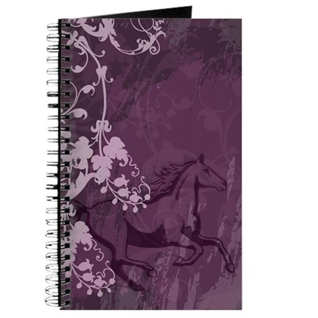 Mystic Garden Horse Journal