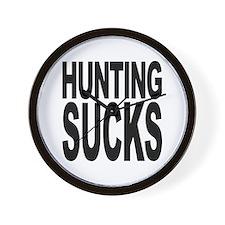 Hunting Sucks Wall Clock