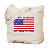 Freedom of Religion Tote Bag