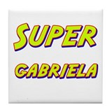 Super gabriela Tile Coaster