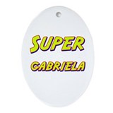 Super gabriela Oval Ornament