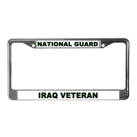 License Plate Frame/National Guard