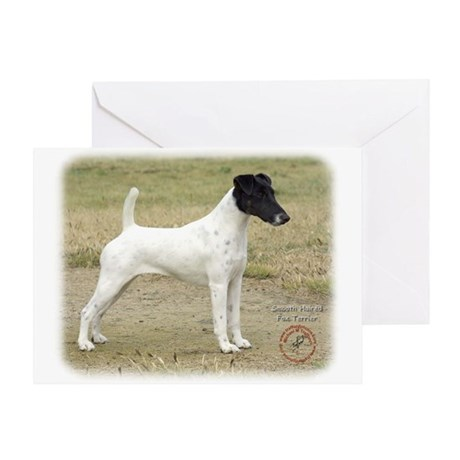 Fox Terrier 9P011D-093 Greeting Card