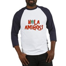 Hello Friends Spanish Baseball Jersey