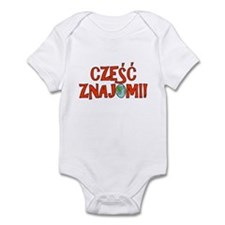 Hello Friends Polish Infant Bodysuit