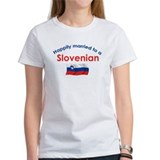 Happily Married Slovenian 2 Tee