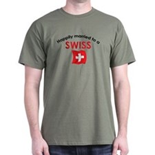 Happily Married Swiss 2 T-Shirt