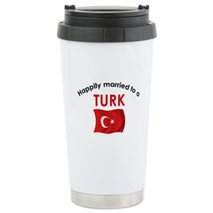 Happily Married Turk 2 Ceramic Travel Mug