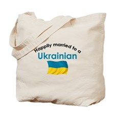 Happily Married Ukrainian 2 Tote Bag