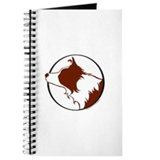 Border Collie Head R&W Journal