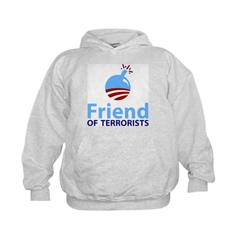 Obama Friend of Terrorists Kids Hoodie