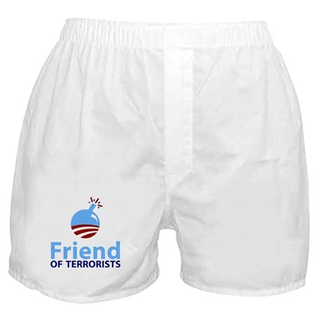 Obama Friend of Terrorists Boxer Shorts