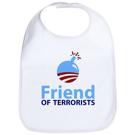 Obama Friend of Terrorists Bib
