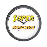 Super francesca Wall Clock