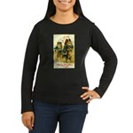 Collie Christmas Women's Long Sleeve Dark T-Shirt
