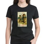 Collie Christmas Women's Dark T-Shirt
