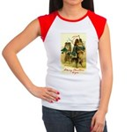 Collie Christmas Women's Cap Sleeve T-Shirt