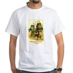 Collie Christmas White T-Shirt