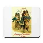 Collie Christmas Mousepad