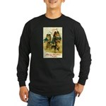 Collie Christmas Long Sleeve Dark T-Shirt
