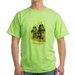 Collie Christmas Green T-Shirt