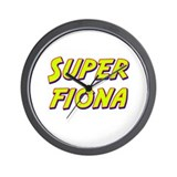 Super fiona Wall Clock