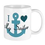 I Love My Sailor  Tasse
