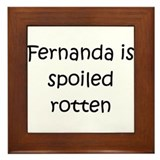 Cool Fernanda Framed Tile