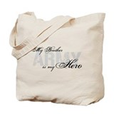 Brother is my Hero ARMY Tote Bag