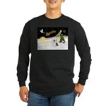 Night Flight/OES #2 Long Sleeve Dark T-Shirt