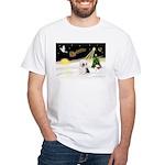 Night Flight/OES #2 White T-Shirt
