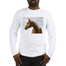 Palomino Stallion Long Sleeve T-Shirt
