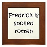 Cool Fredrick Framed Tile