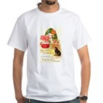 Apple Bobbing White T-Shirt