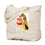 Apple Bobbing Tote Bag